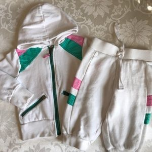 Old Navy Girls Sweatsuit Outfit 2T